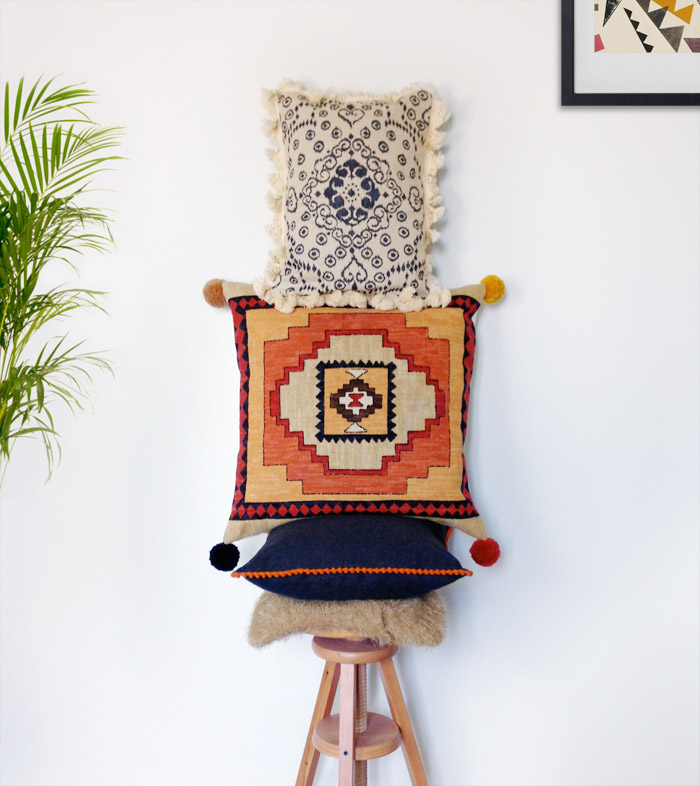 Morocco Style Cushions |  Betsy Sewing