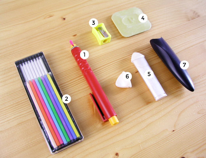 Different types of dressmaker's chalks    Betsy Sewing
