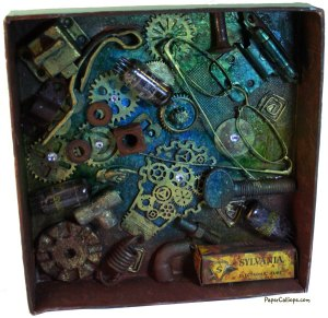 Retro-TV-Shadow-Box-Interior-Mechanics-by-Paper-Calliope