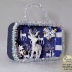 Robin's Nest Blog Hop–Check out this altered Altoid tin Christmas Ornament