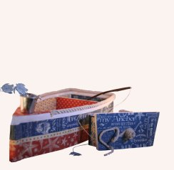 Paper Calliope Altered Boat with Hidden Desk Calendar 2 web