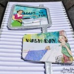 Brighten up your laundry room by making these retro signs