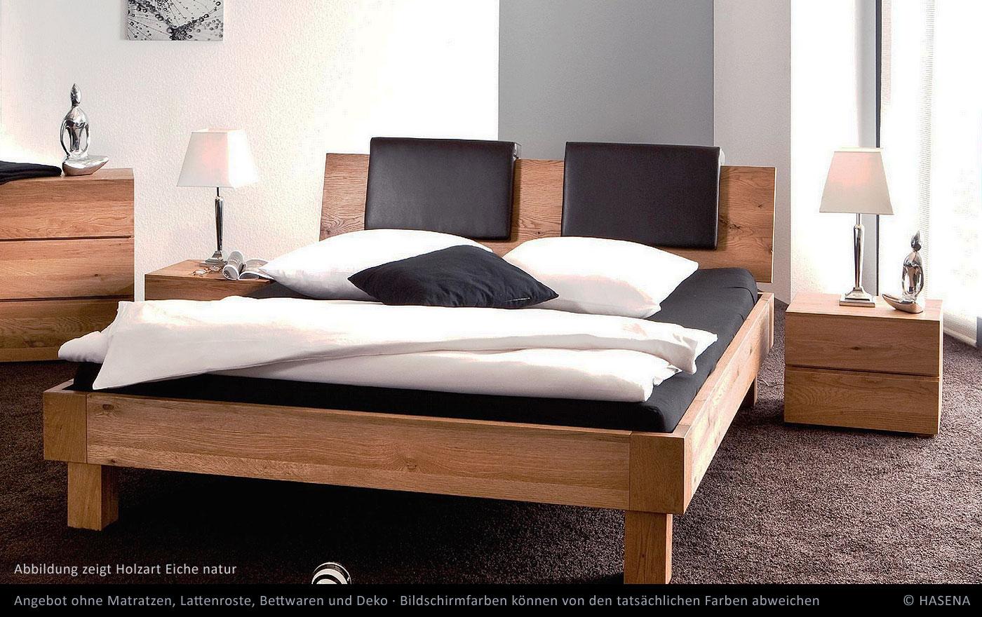 Hasena Massivholzbett Oak Line Noro Eiche Betten Prinz GmbH