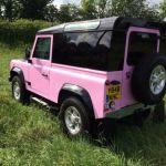 Pink Landrover