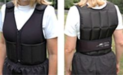 Zipper Front Weighted vests