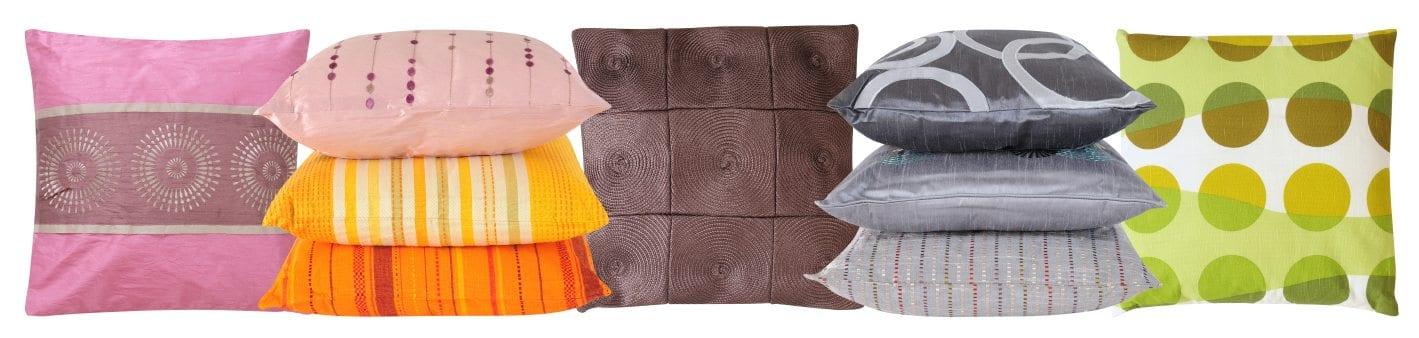row-of-pillows