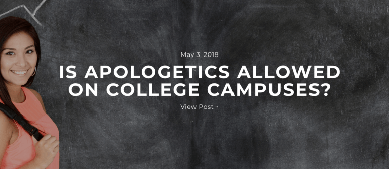Apologetics on Campus