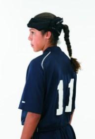 DonJoy Hat Trick Soccer Helmet Side View