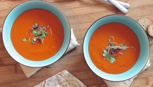 टमाटर के सूप के लिए आवश्यक सामग्री - Tomato Soup Ingredients in Hindi