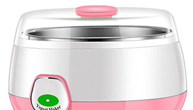 HSR Plastic And Stainless Steel 1 Litre Automatic Yogurt Maker
