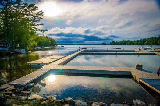 camp manitou lakeside facilities