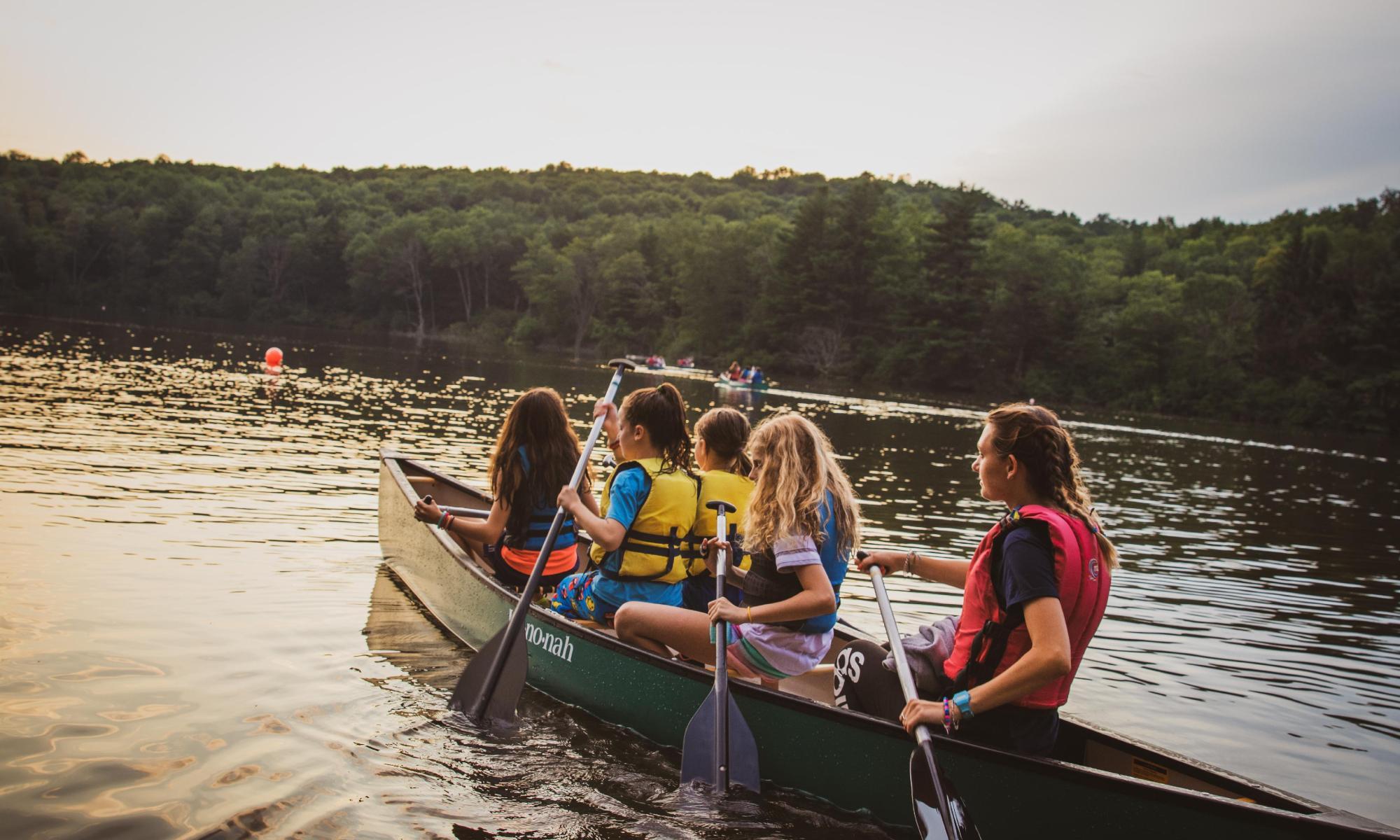 camp ihc canoe