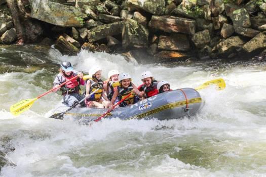 rockbrook camp for girls white water rafting