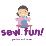 sew fun parties logo