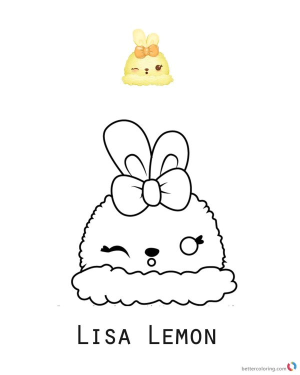 lemon coloring page # 16