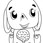 Hatchimals Coloring Pages Free Printable Coloring Pages