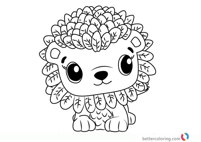 Leoriole From Hatchimals Coloring Pages Free Printable