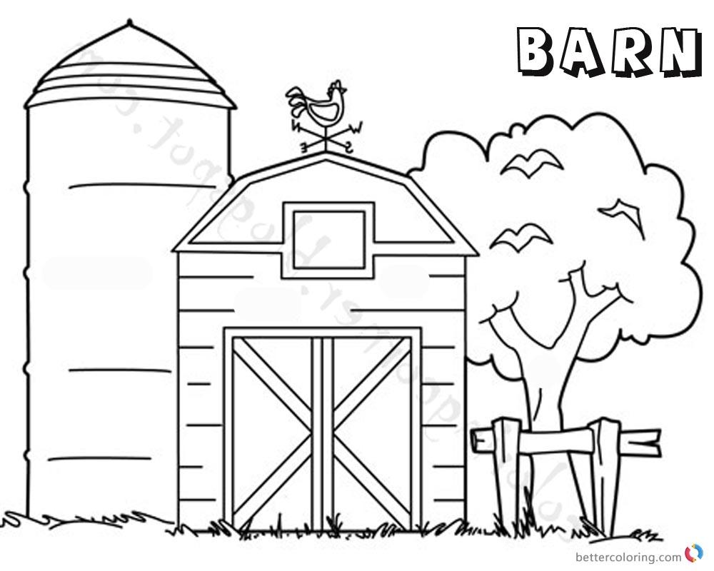 Farm House Coloring Pages. Coloring Pages Farm Best Farm Couple ...