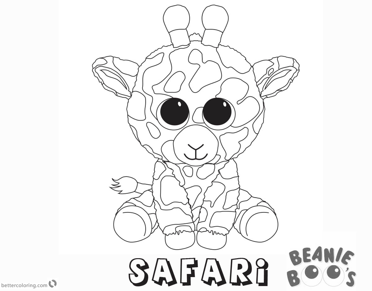 Beanie Boos Coloring Pages That You Can Print