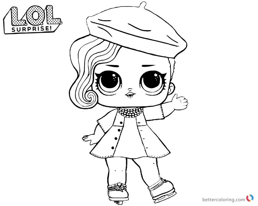 Lol Doll Pets Coloring Pages