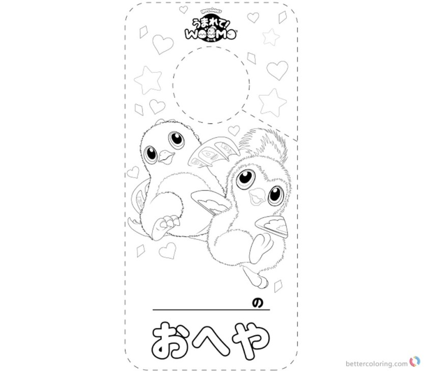 hatchimals coloring pages coloring sheet  free printable
