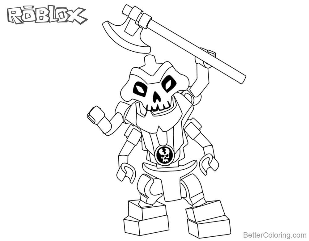 Roblox Noob Coloring Pages Similiar Roblox Noob Characters