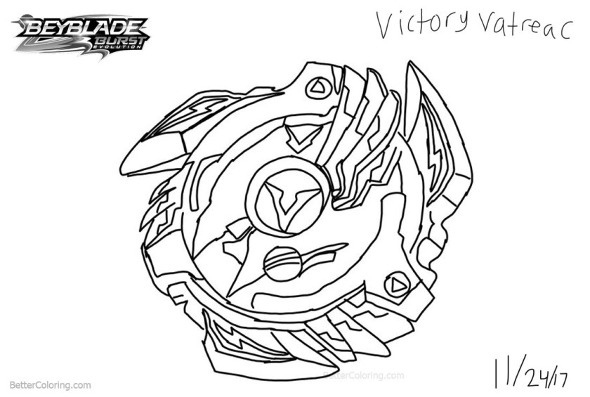 beyblade burst coloring pages fan art drawing