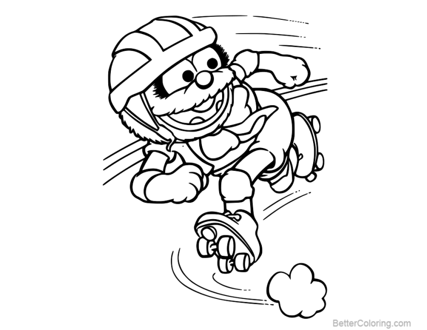 disney muppet babies coloring pages  free printable