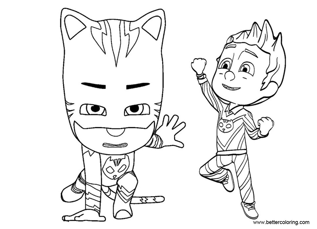 The Top 30 Ideas About Catboy Coloring Pages
