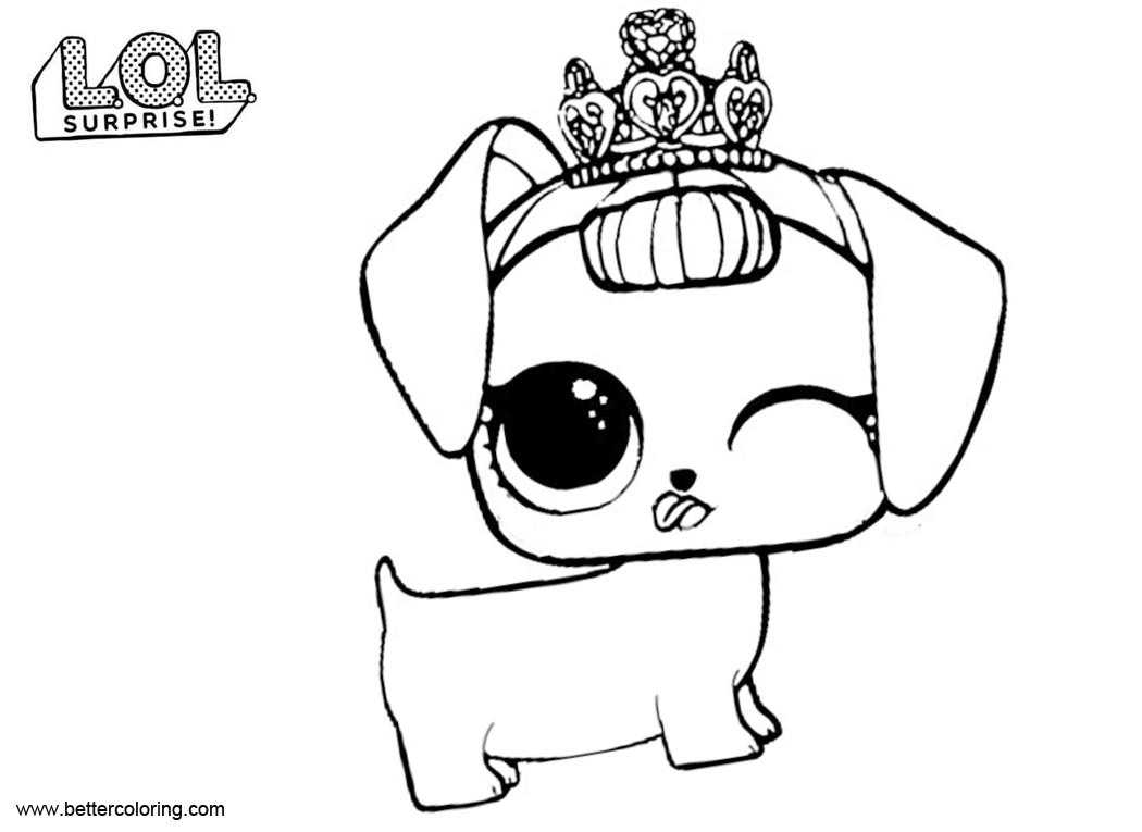 Puppy Coloring Pages To Print
