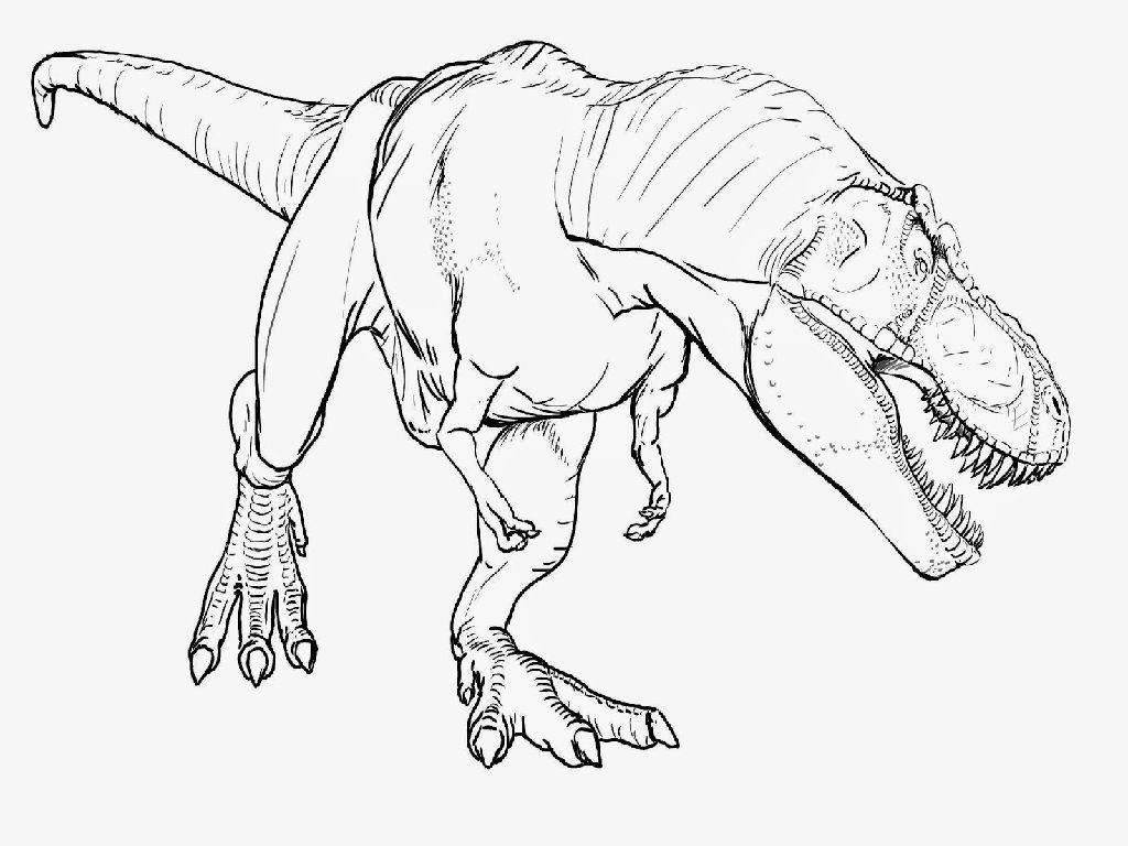 Godzilla Coloring Pages Free For Girls Giganotosaurus