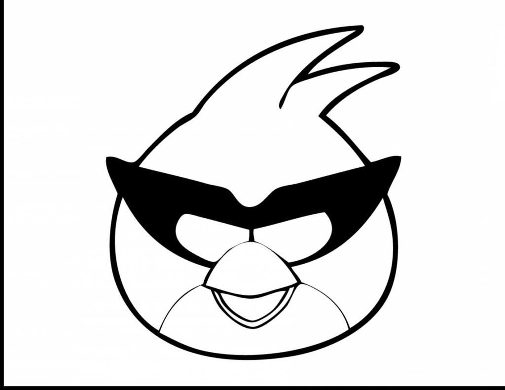 Angry Birds Coloring Pages Bird Kids Fan Art