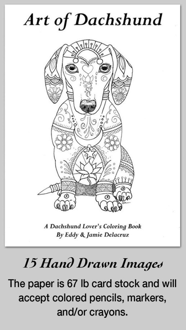 dachshund coloring pages # 84