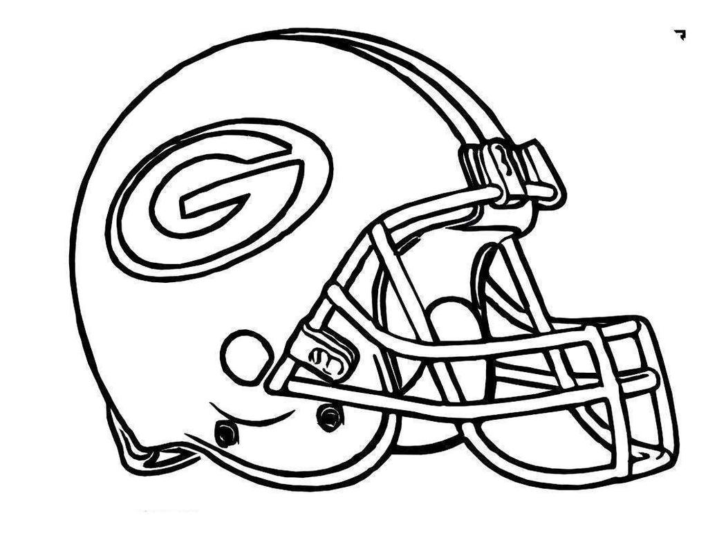 Nfl Football Helmets Coloring Pages Logo Kids Clipart