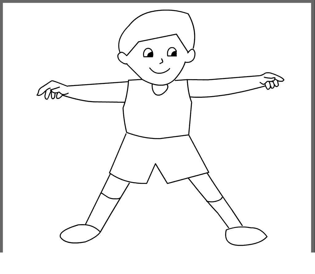 Parts Of The Body Coloring Pages Worksheet