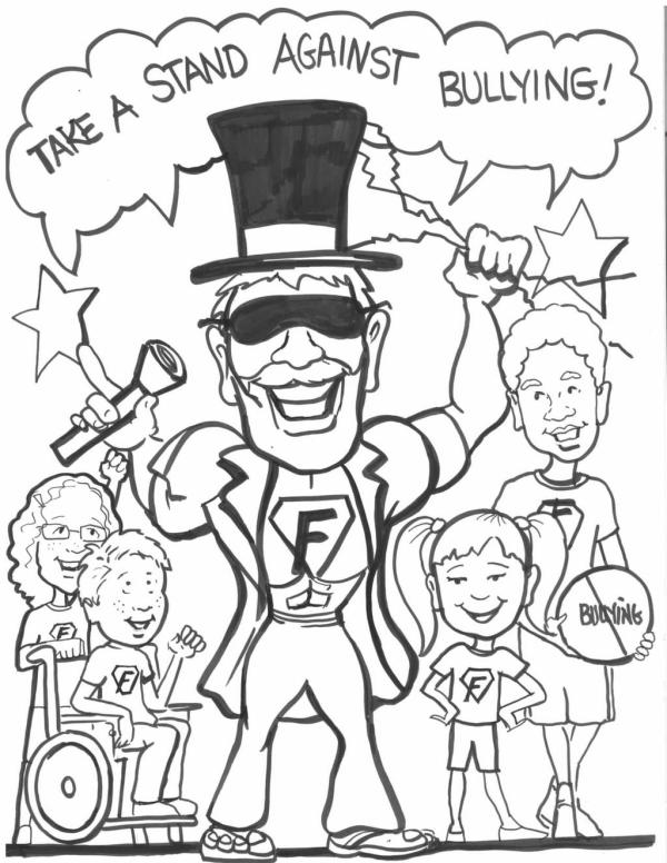 bullying coloring pages # 28