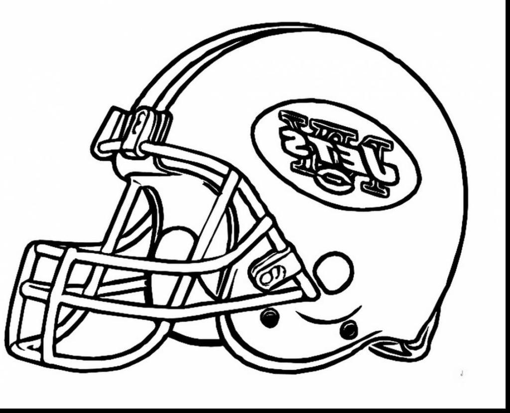 New York Giants Football Coloring Pages Jets Epic