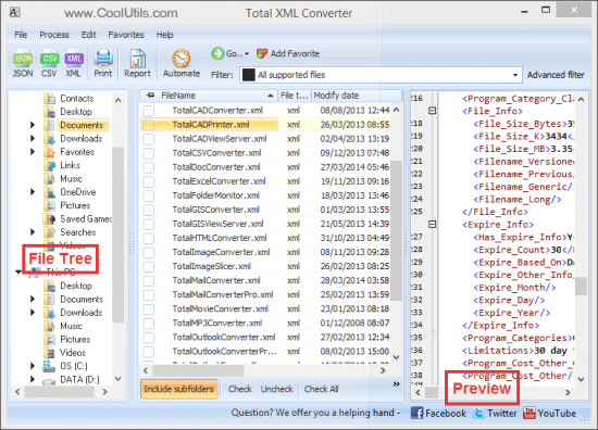 Coolutils Total XML Converter Crack Patch
