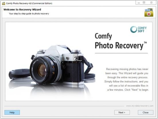 Comfy Photo Recovery Crack Download