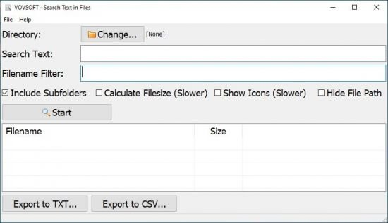 VovSoft Search Text in Files crack Patch