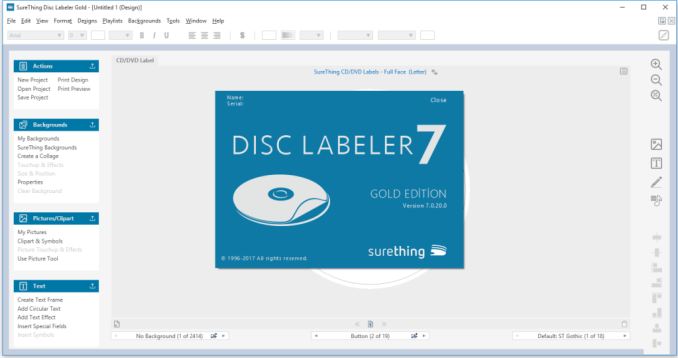 surething disk labeler deluxe gold crack patch