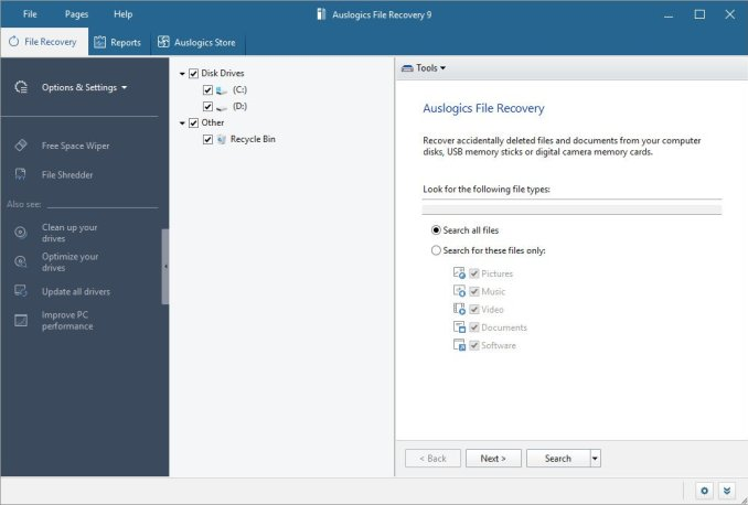 Auslogics File Recovery Professional serial key