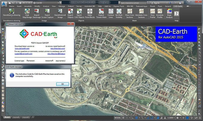 CAD-Earth crack patch