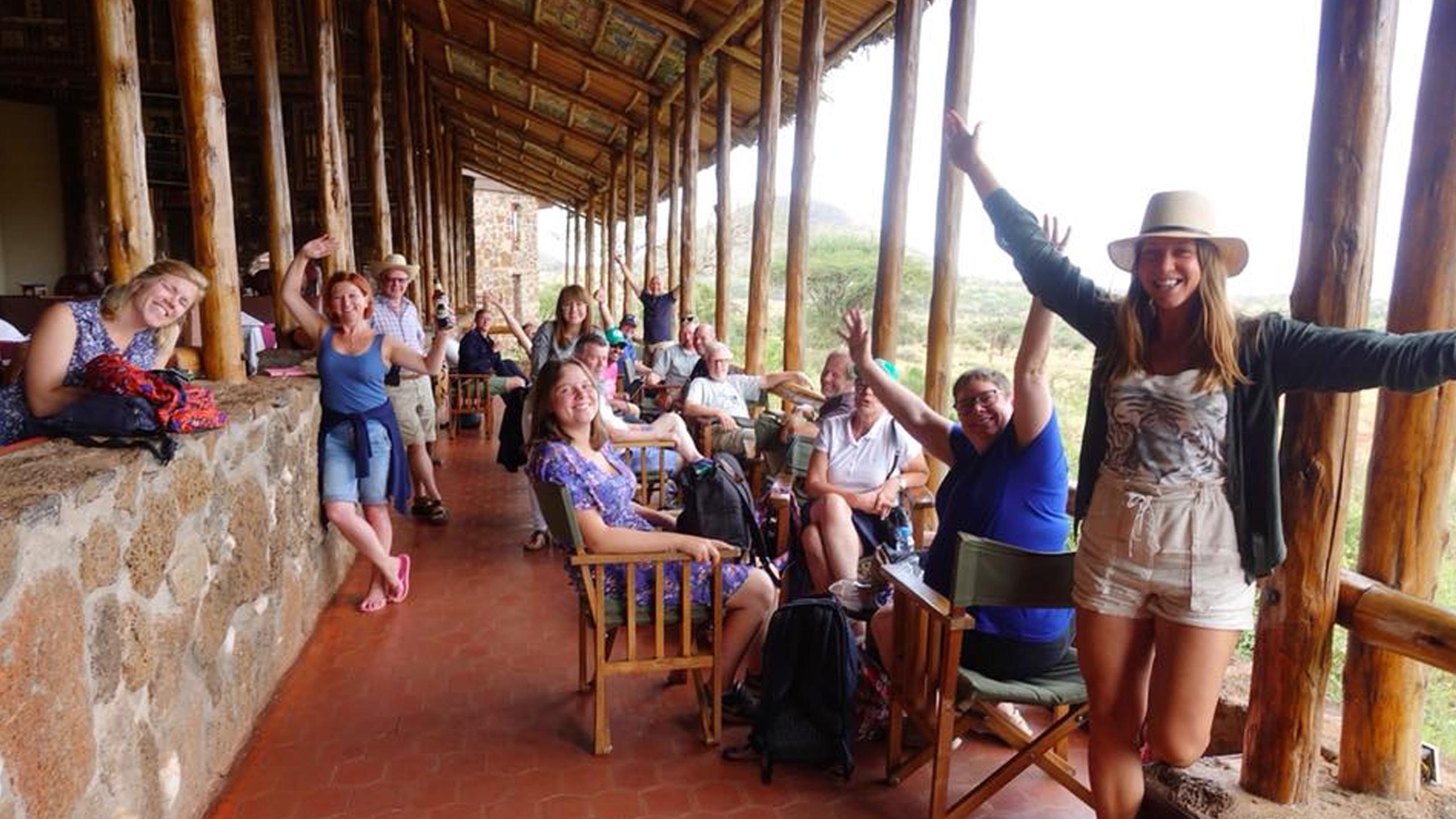 Besök i Tsavos nationalpark