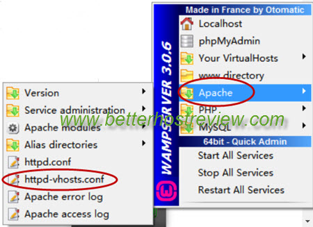 Access WAMP server from local network