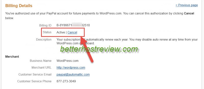 Paypal Billing Agreement Better Host Review