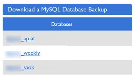 Backup MySQL databases on VPS server – Better Host Review