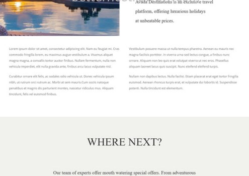 Quick steps to create a travel website with Avada WordPress theme ...