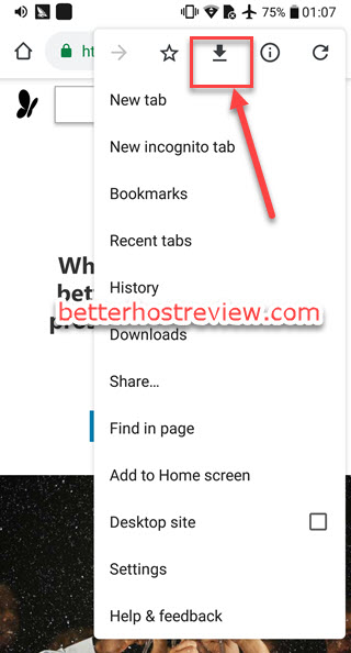 Download web pages on Android phones – Better Host Review