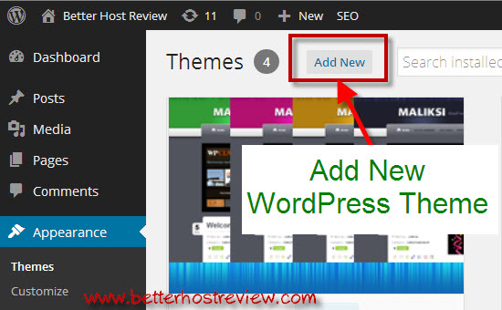 How to install WordPress themes? – Better Host Review
